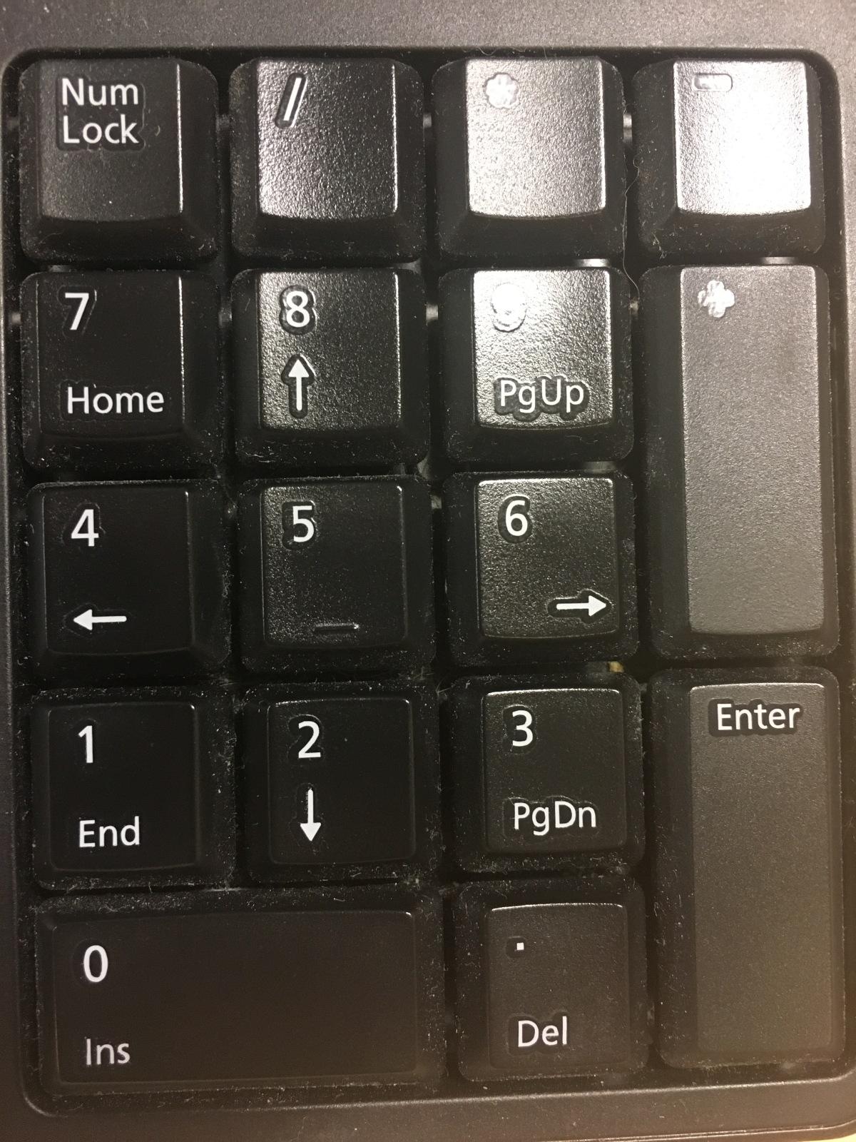 The 10 Key