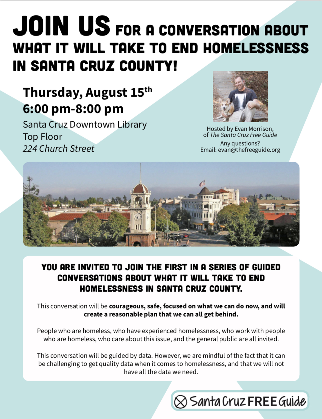 Let's Take On Ending Homelessness in Santa Cruz
